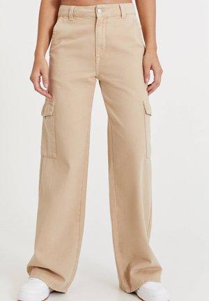 Pantaloni cargo - mottled beige