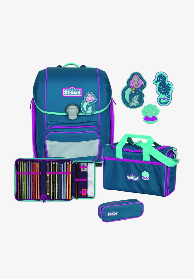SET - Schooltas set - mermaid