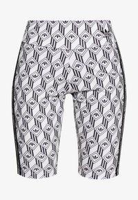 adidas Originals - CYCLING SHORTS - Shorts - black/white - 3
