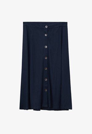 PATRICIA - Pleated skirt - dunkles marineblau