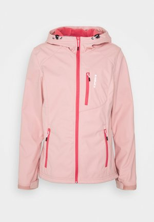 VIRDEN - Giacca softshell - light pink