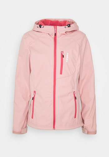 VIRDEN - Soft shell jacket - light pink