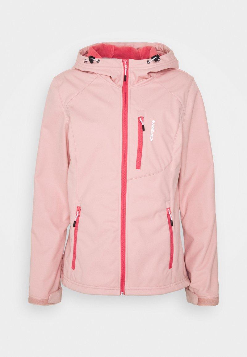Icepeak - VIRDEN - Softshelljakke - light pink