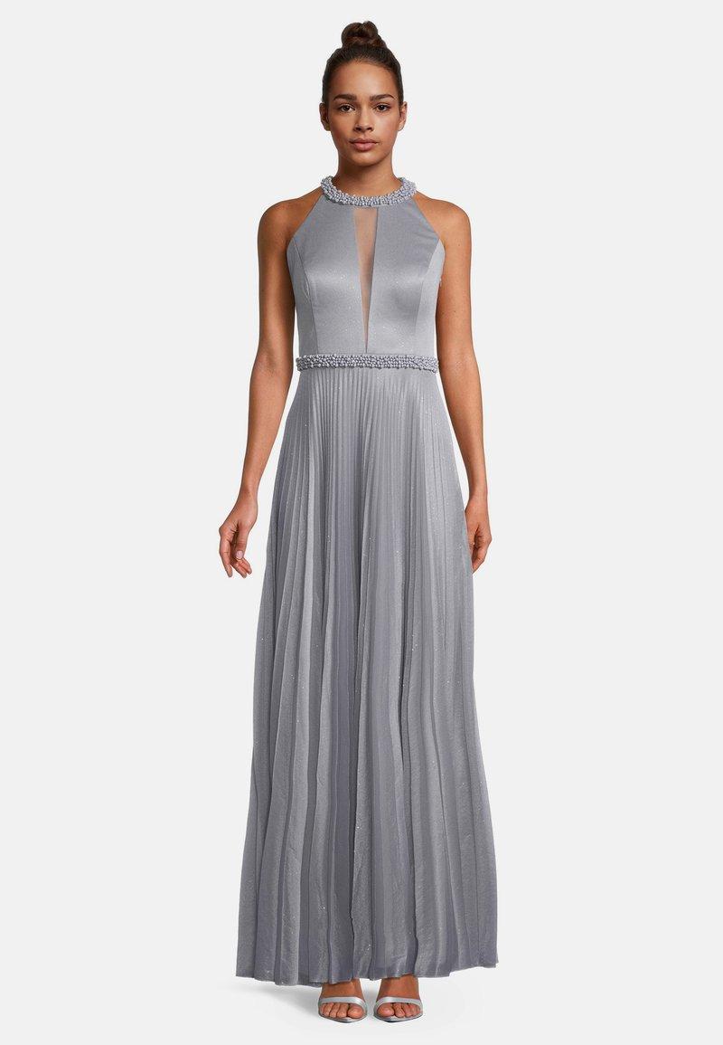 Vera Mont - MIT PLISSEE - Maxi dress - iron blue
