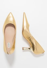 Guess - GALYAN - Klassiske pumps - gold - 3