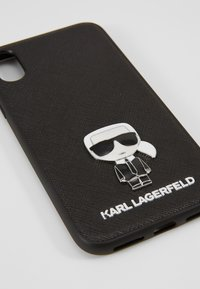 KARL LAGERFELD - IKONIK PIN XS - Phone case - black - 2