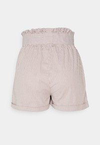 ONLY Petite - ONLSMILLA STRIPE BELT - Shorts - toasted coconut/white - 1