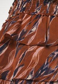 YAS - YASASTEA SKIRT - Mini skirt - brown - 5