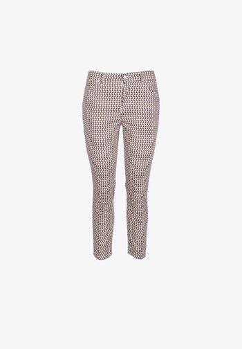 ORNELLA 7/8 - Trousers - beige