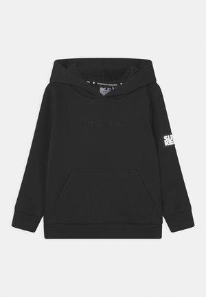 SPOTS UNISEX - Zip-up sweatshirt - black