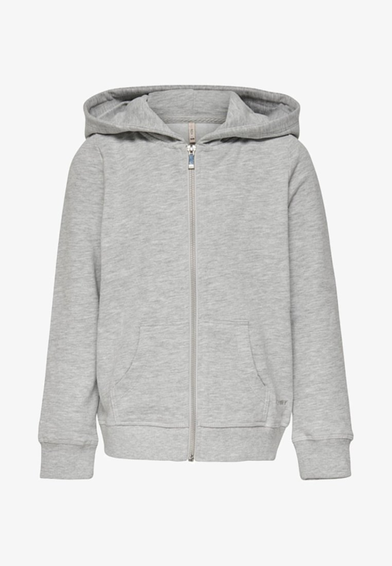 Kids ONLY - Zip-up hoodie - light grey melange