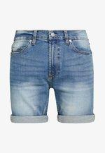 ROLLED HEM  - Short en jean - mid vintage wash