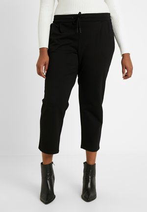 VMEVA STRING CURVE - Tracksuit bottoms - black