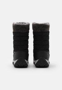 Hi-Tec - AURORA WP - Botas para la nieve - black/mid grey - 2