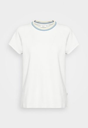 WITH TIPPING - Camiseta estampada - scandinavian white