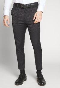 New Look - JAY CROP - Oblekové kalhoty - black - 0