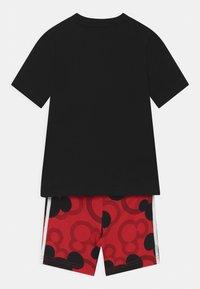 adidas Performance - SET UNISEX - Sports shorts - black/white/vivid red - 1