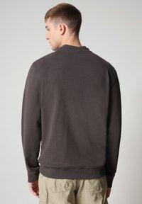 Napapijri - BIROL CREW - Sweatshirt - dark grey solid - 1