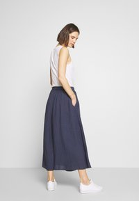 Marc O'Polo - SKIRT COLD DYE - Jupe trapèze - blue - 2