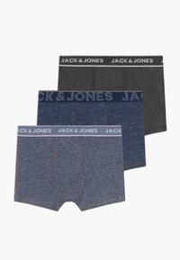 Jack & Jones Junior - JACDENIM TRUNKS 3 PACK - Pants - navy blazer/dark grey - 0