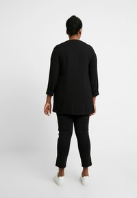 Evans - BUTTON POCKET  - Blazer - black - 2