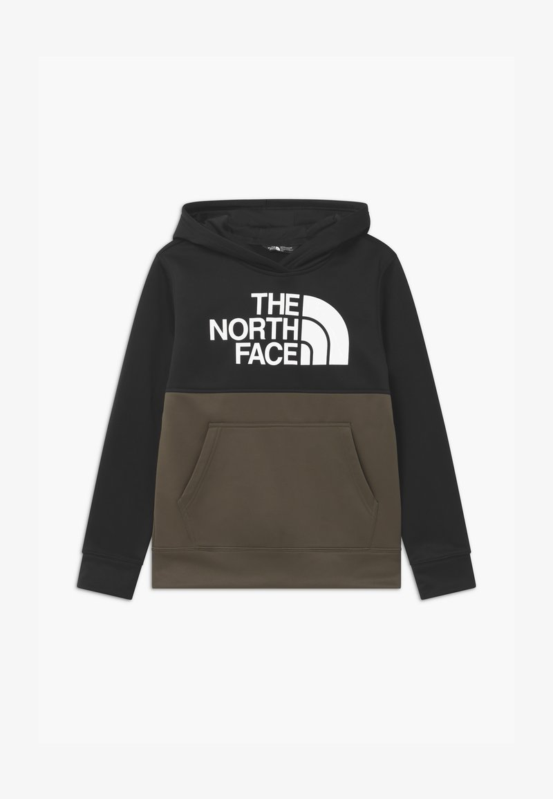 The North Face - SURGENT BLOCK HOODIE - Hoodie - new taupe green