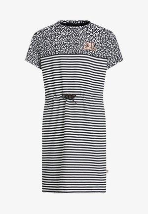 MEISJES JURK - Vestido ligero - white,black
