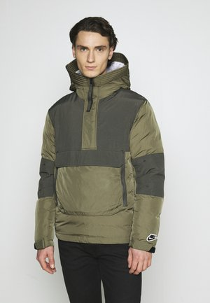 Winterjas - medium olive/black