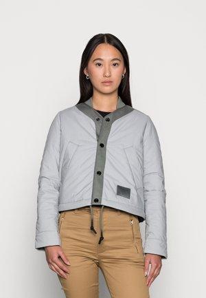 COACH LINER - Bomber Jacket - correct grey