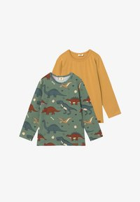 Walkiddy - 2 PACK - Long sleeved top - green - 3