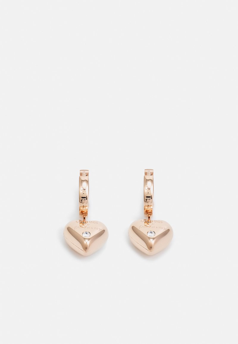 Guess - IS FOR LOVERS - Pendientes - rose gold-coloured