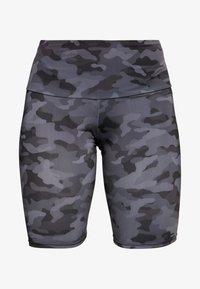 Onzie - HIGH RISE BIKE SHORT - Tights - black/gray - 3