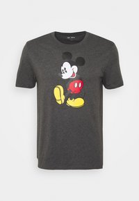 MICKEY - Print T-shirt - charcoal grey