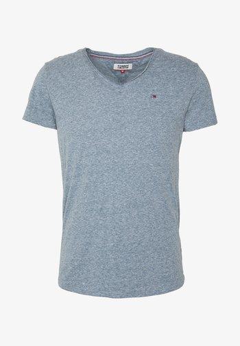 VNECK TEE - T-shirt - bas - audacious blue