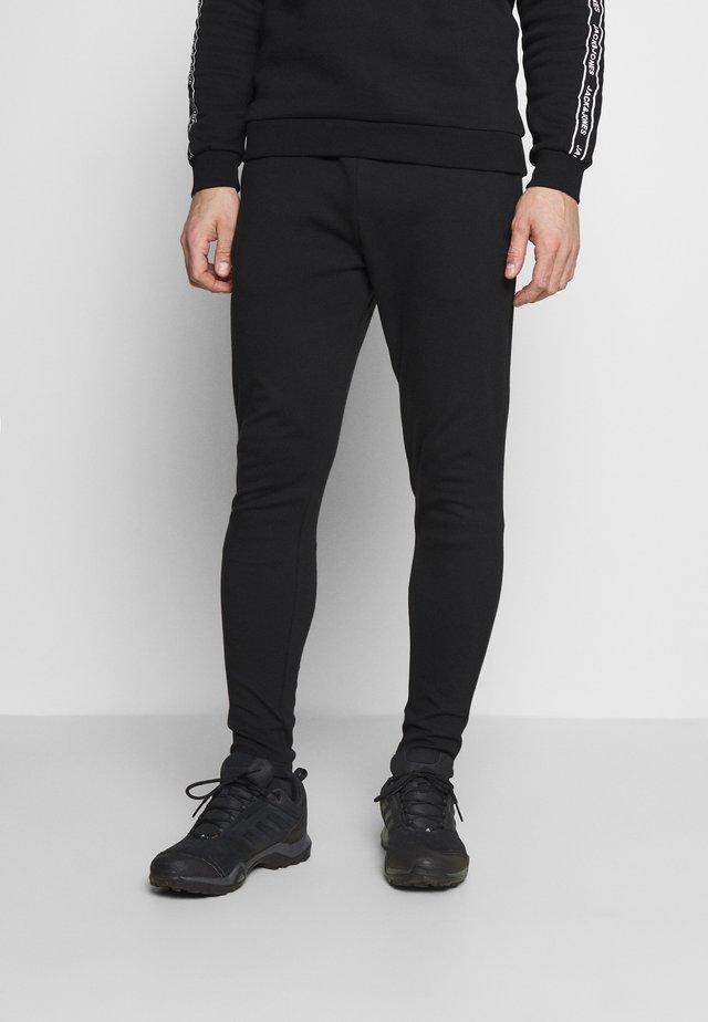 MOREL PANTS - Træningsbukser - black