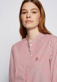 BOSS - BEFELIZE - Button-down blouse - red - 4