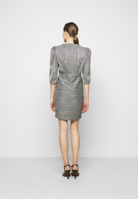 Iro - CLUZCO - Shift dress - black/silver - 2