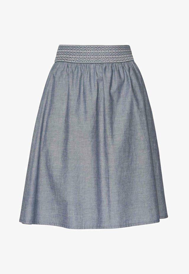 D.RO. SELZTHAL - A-line skirt - blau
