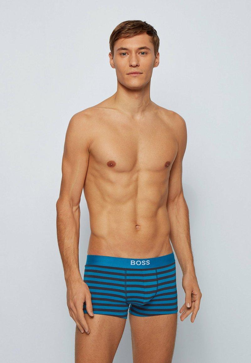 BOSS - Pants - turquoise
