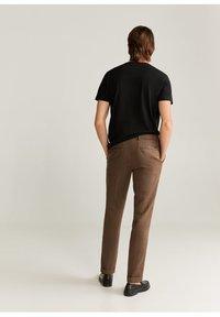 Mango - Trousers - brun - 2