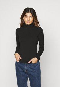 Even&Odd Petite - 2 PACK - Long sleeved top - black - 1