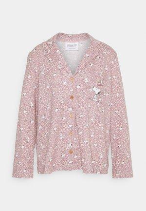 SNOOPY COTTAGE LONG FLOWER - Pyjamas - purple