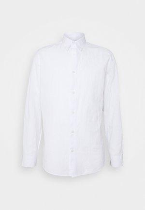 SLHSLIMNEW - Vapaa-ajan kauluspaita - white