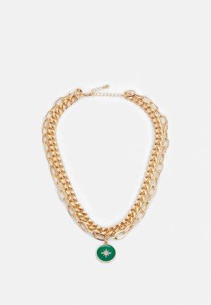 PCAROMA COMBI NECKLACE - Smykke - gold-coloured