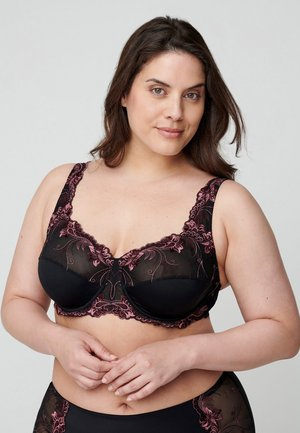 EMMA - Underwired bra - black