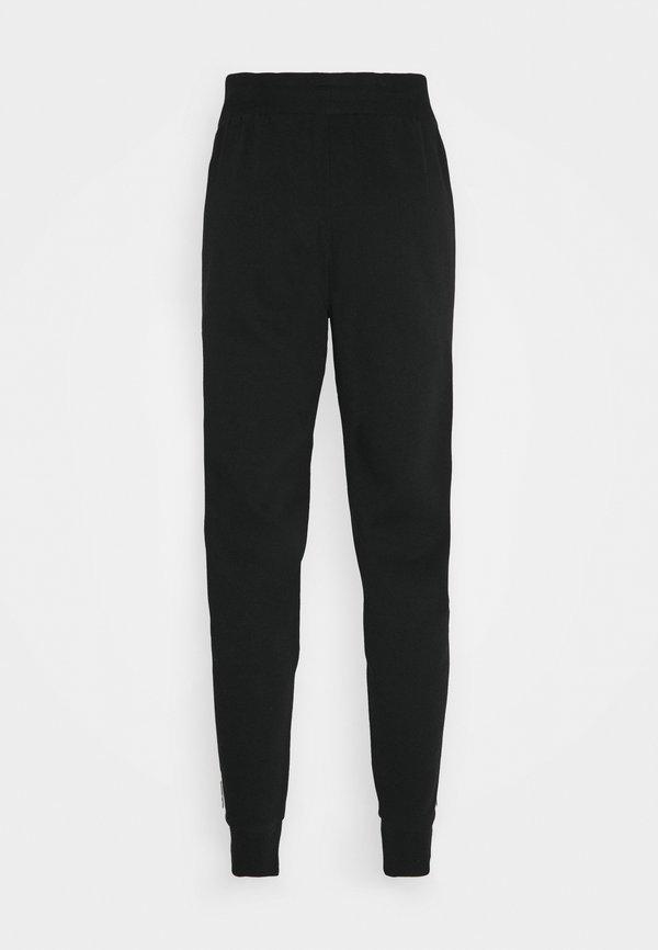 adidas Originals STRIPES PANT - Spodnie treningowe - black/czarny Odzież Męska ORDL