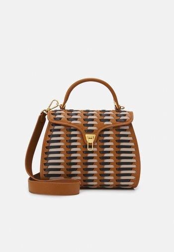 MARVIN INFILATURE HANDBAG - Handbag - multi/caramel