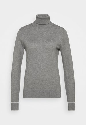 ROLL NECK - Jumper - mid grey heather