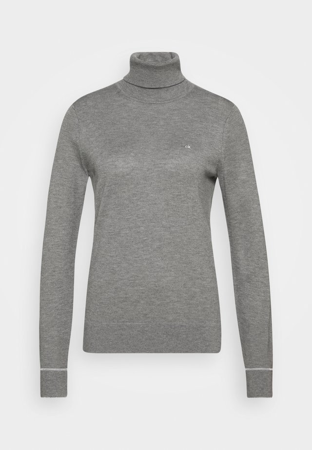 ROLL NECK - Maglione - mid grey heather