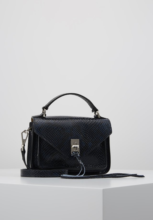 MINI DARREN MESSENGER PYTHON - Across body bag - lake blue